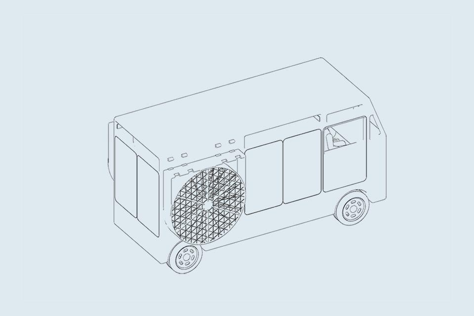 pegasious transporter, pegasious van, pegasious truck, flying transporter, flying van, flying truck