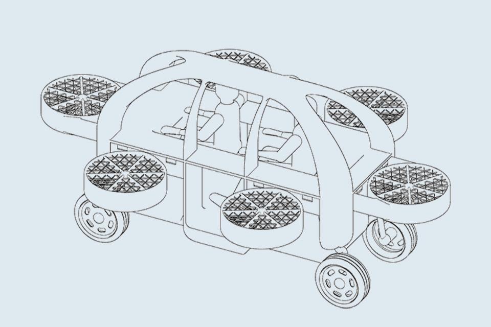 pegasious urban air vehicle